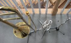 Musical Instrument Doubling, Flute Trumpet Trombone Brass Embouchure